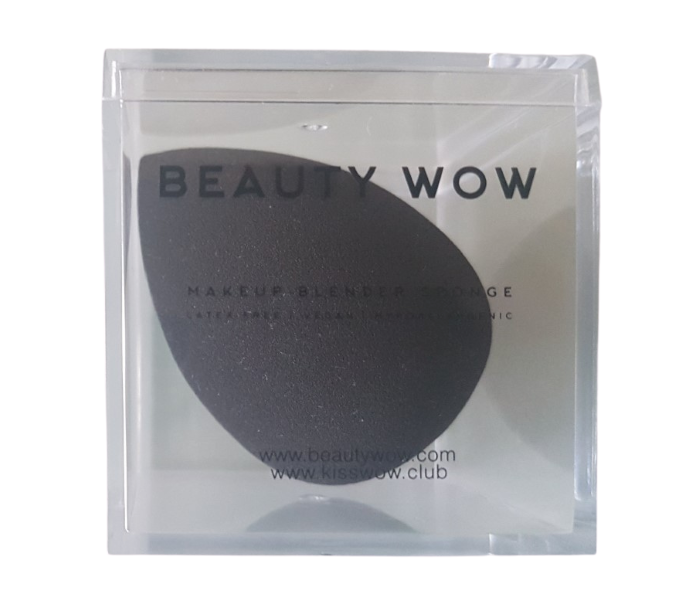 Beauty  Wow Makeup Blender Sponge Black