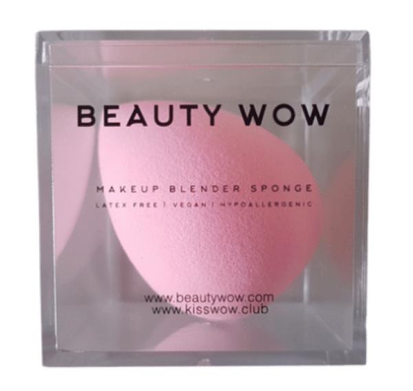 Beauty Wow Pink Makeup Blender Sponge Pink