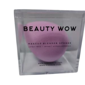 Beauty Wow Lilac Beauty Blender Makeup Sponge 1