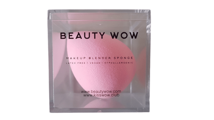 Beauty Wow Pink Makeup Blender Sponge