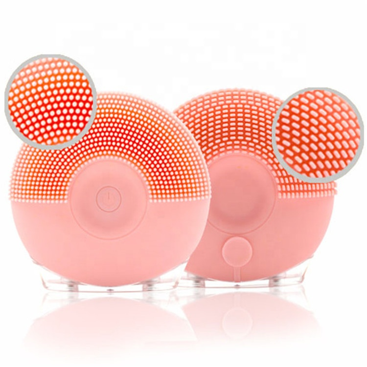 Beauty Wow Pink Sonic Go Go Double Brush Head