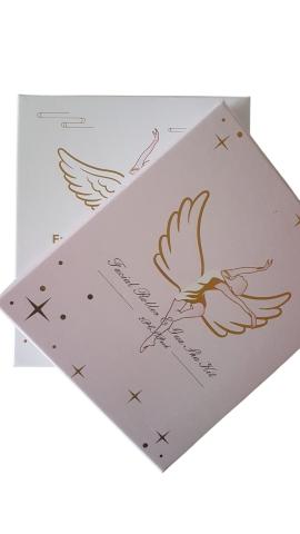 Beauty Wow Rose Quartz Angel Facial Roller & Gua Sha Gift Set 8