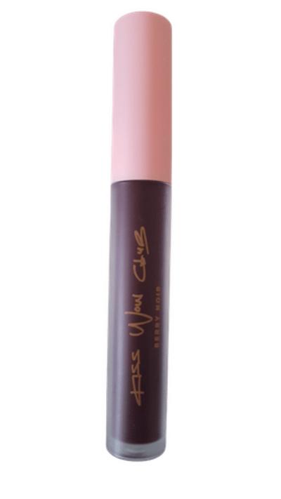 Kiss Wow Club Berry Noir Lipstick