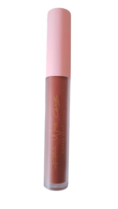 Kiss Wow Club Ginger Snap Latte Lipstick