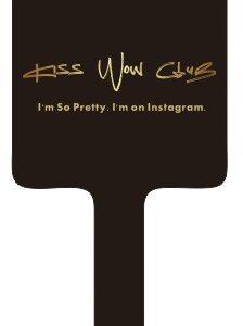 Kiss Wow Club Makeup Mirror Black