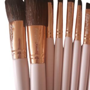 Kiss Wow Club Pink Flamingo Make Up Brush Set 7