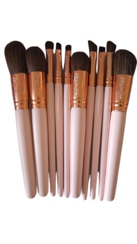 Kiss Wow Club Pink Flamingo Makeup Brushes Pink 7