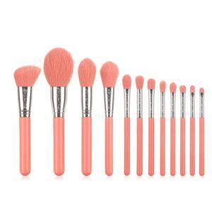 Kiss Wow Club Pro Blue Make Up Brush Set 2