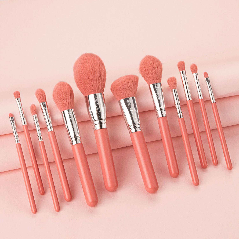 Kiss Wow Club Pro Blue Make Up Brush Set 3