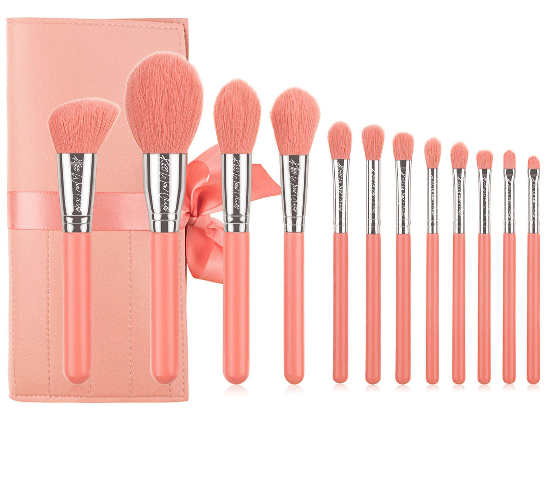 Kiss Wow Club Pro Blue Makeup Brush Set 9