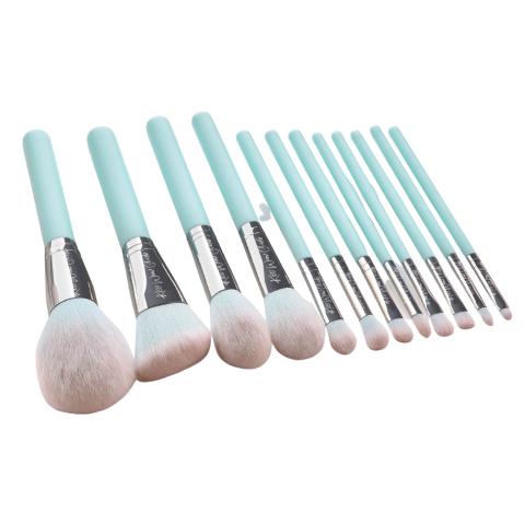 Kiss Wow Club Pro Powder Blue Makeup Brush Set 20