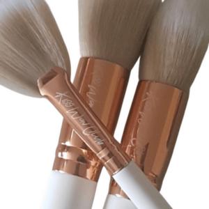 Kiss Wow Club Sable White Makeup Brush Set 6
